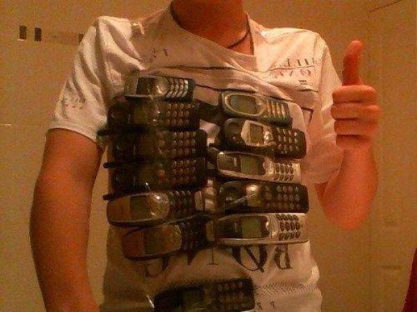 New generation of bullet proof vests. no bullet will pass through that. asdasdasd