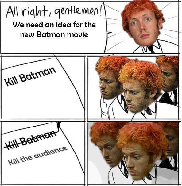 new idea for movie. . All tull/ tlkn I i. We need an idea for the new Batman meme new idea for movie All tull/ tlkn I i We need an the Batman meme