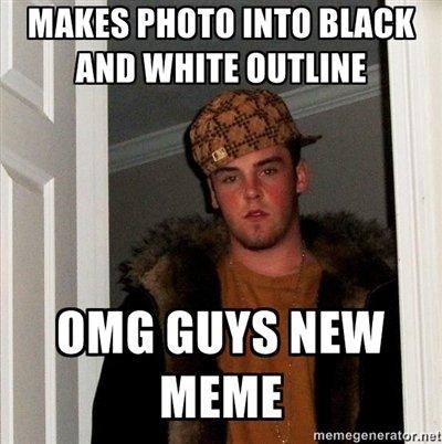 "New memes. Just my opinion on the whole ""new meme"" idea ..... lii. l. zibit more mm smelt xiik Scumbag steve new meme"