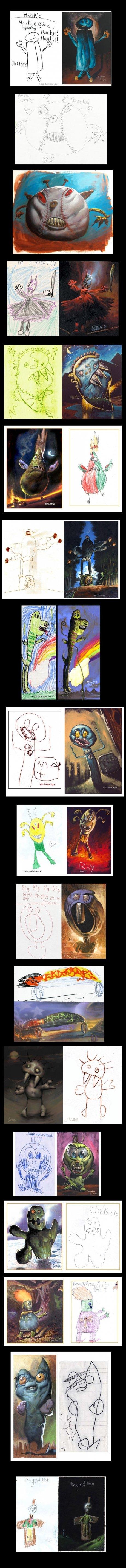 Nightmare Drawings. .. Who you callin' pinhead? Nightmare Drawings Who you callin' pinhead?