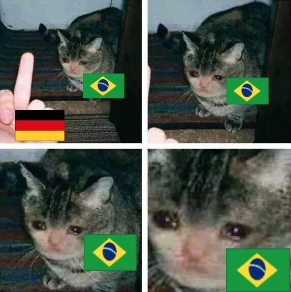 No more :(. Brasil decime que se siente..... Brazil now tener en casa a