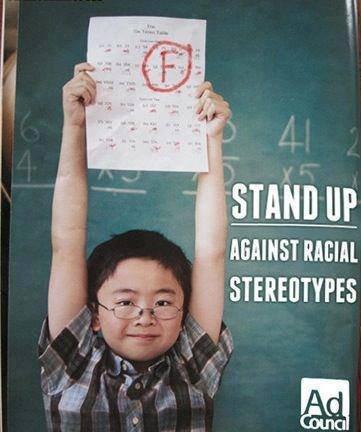 No more racial stereotypes!. . No more racial stereotypes!