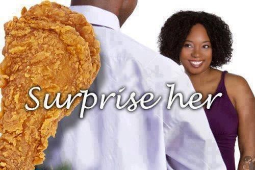 No need no diamond!. . black people Chicken