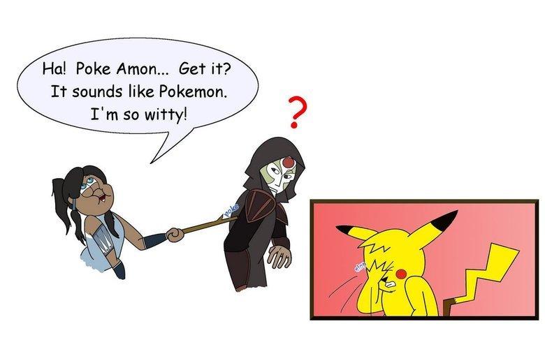 No punchline here. fav.me/d5260r2. Hal Poke Anton... Get it? It sounds like Pokemon. I' m so witty!. bro, it was just a joke..... No punchline here fav me/d5260r2 Hal Poke Anton Get it? It sounds like Pokemon I' m so witty! bro it was just a joke