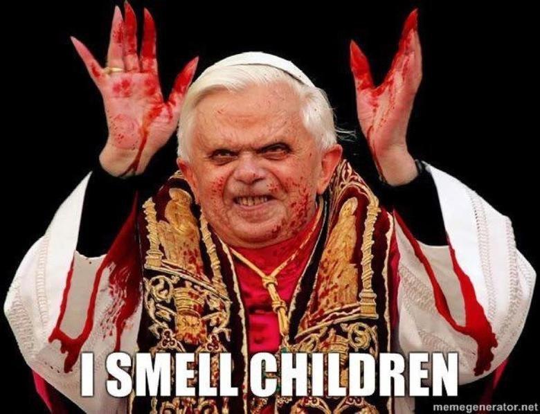 No words can describe.... . raet pedo pope