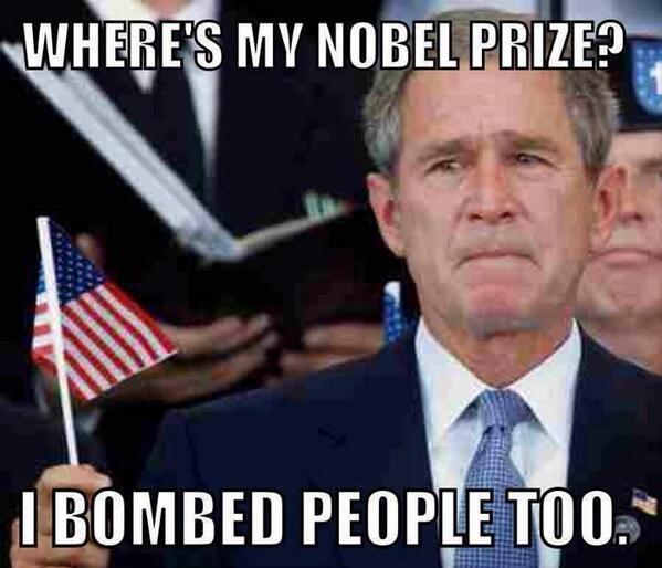 Nobel Prizes for everyone!. . Nobel Prizes for everyone!
