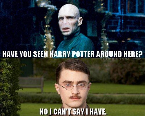 Nope.. .. photoshop skills 101 harry potter funny lol