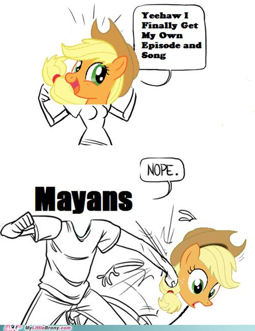 nope..... . pony time Applejack