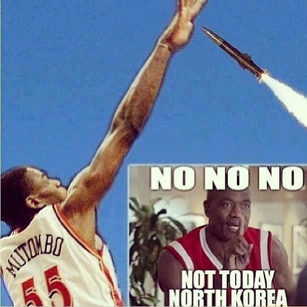 North Korea. . North Korea no no no Basketball lol missile small
