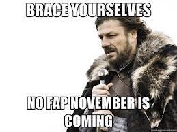 November is cuming!. Yep.. November is cuming! Yep