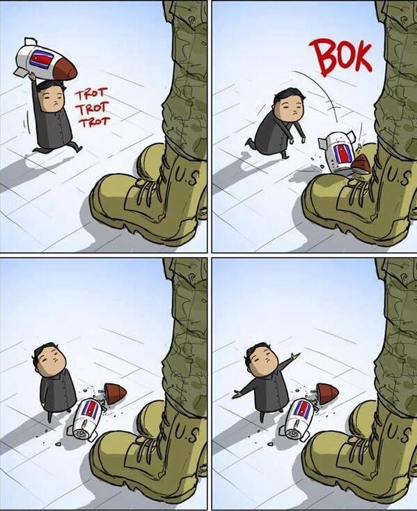 Nuclear War. description. North Korea usa nuclear war