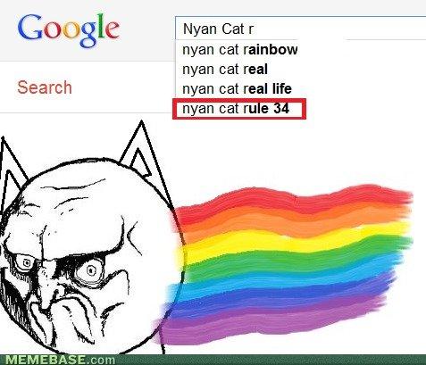 nyan. . Spoogle l Nyan Cat r nyan cat rainbow man cat real Search . wan cat real life man ca rule ' Nyan Cat