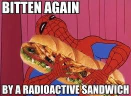 Radioactive Sandwhich. . BITTER Radioactive Sandwhich BITTER