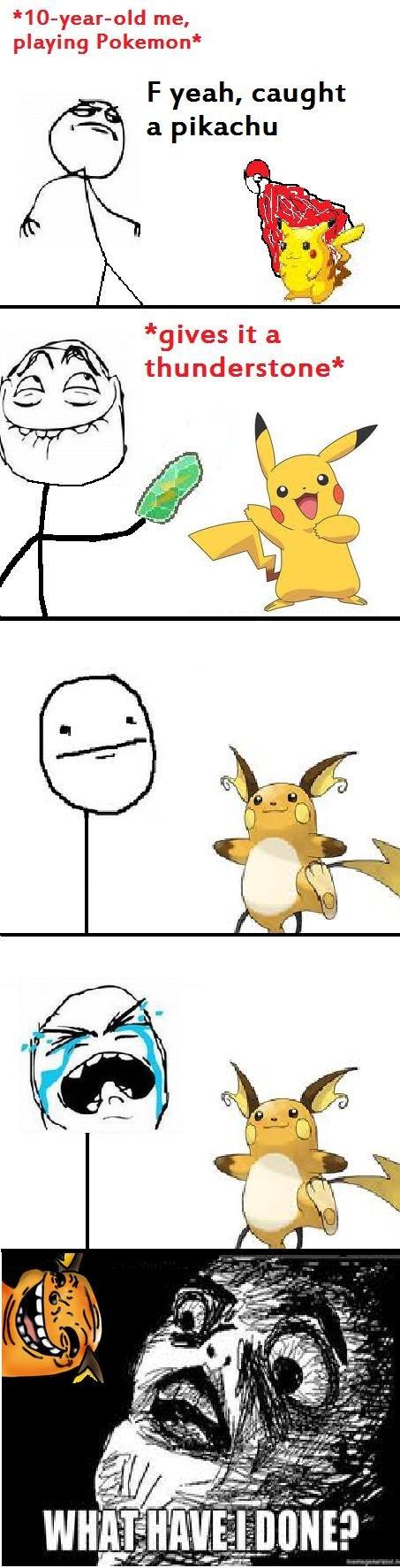 Raichu. . playing Pokemon' F yeah, caught a pikachu gives it a Pokemon PIKACHU lol