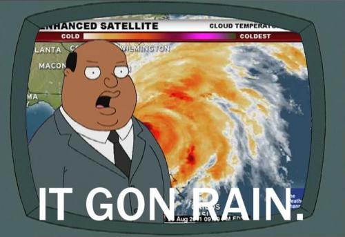 RAIN mofo'. . RAIN mofo'