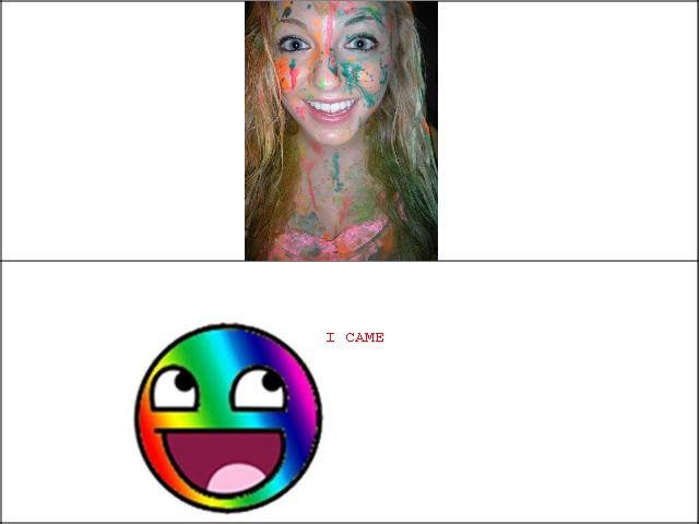 Rainbow facials. You be welcome Ms shay.. Clown Bukkake .. Rainbow facials You be welcome Ms shay Clown Bukkake