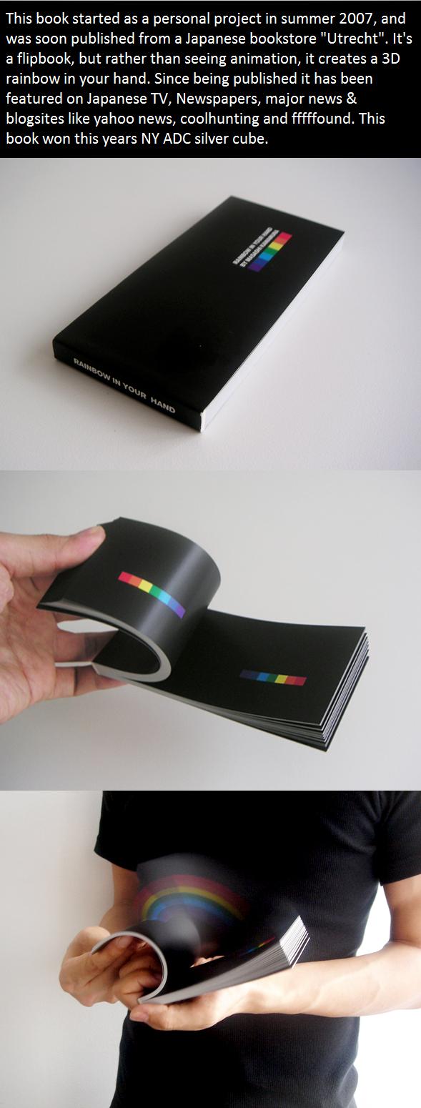 RAINBOW IN YOUR HANDS. found it on stumble .. Double Rainbow! Paint skills of da charts. Rainbow