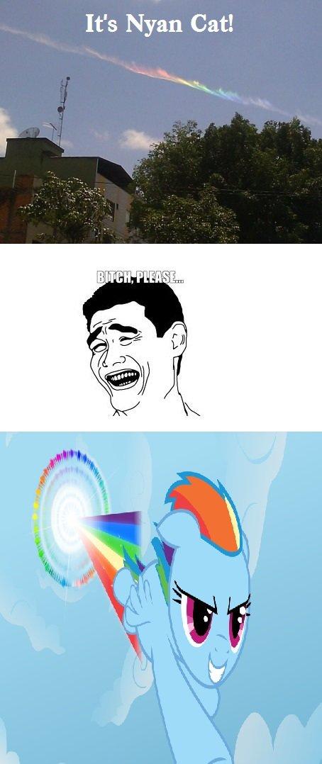 Rainbow Stream. . It' s Nyan Cat!. Is better Rainbow Stream It' s Nyan Cat! Is better
