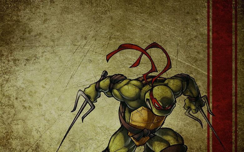 Raphael TMNT wallpaper. Enojy!.. any of the other turtles? Raphael  TMNT