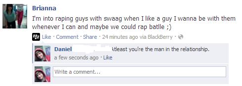 Raping. wat. Swag