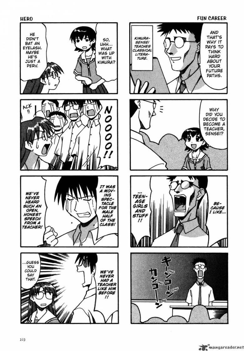 """Read as comic strip manga. Azumanga Daioh. MEM FIJI! CAREER EAT AN i """"manna are ad an Hat. inlarge. suace golden boy. Read as comic strip manga Azumanga Daioh MEM FIJI! CAREER EAT AN i """"manna are ad an Hat inlarge suace golden boy"""