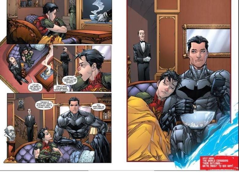 really super gay feels. .. <<Robin super Gay Ace batman repost sick robin Cute son father moments