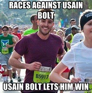 Ridiculously Photogenic Guy V. Bolt. . tlr. I I Ridiculously Photogenic Guy V Bolt tlr I