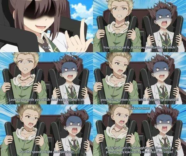 Rikka's Broken. Source: Haganai. Fallt _ wht a Rikka's Broken Source: Haganai Fallt _ wht a