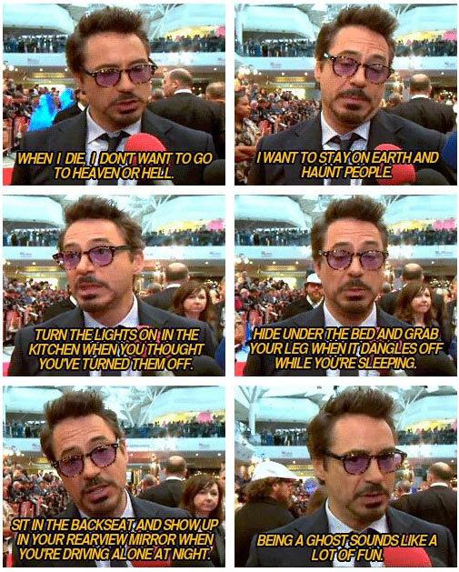 Robert Downey Jr.... Not oc. Unsure if repost.. TD HE?. DI? HE ll . HA UNI PEEPL E KITCHEN ' clt/ THAOGHT LEG wre) , i; DEE . IN 1/ REARDED, WHEN BEING all LIKE