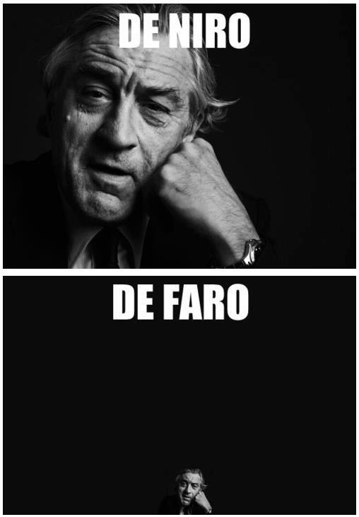 Robert Fuckin' De Niro. . nigga
