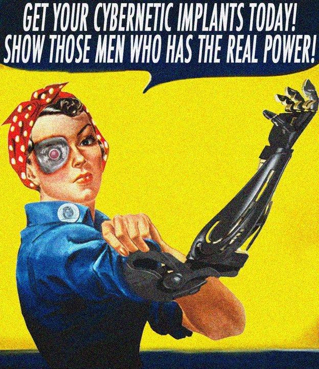 "Robo WOW, Rosienator, Rosie the Robot. My friend made this for an art class. ""Rosienator"" and ""Rosie the Robot"" are his ideas for a name for Robot Cyber wwII War women boobies"