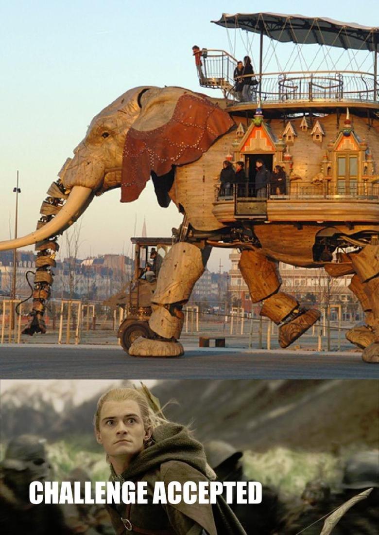 Robotic Elephant. .. ha that god dam funny! Robotic Elephant ha that god dam funny!