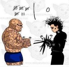 rock beats scissors. . rock beats scissors