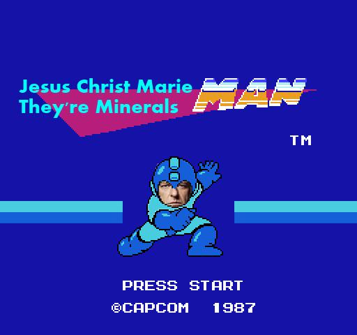 Rockman. . Jesus Christ Marie They' re Minerals Ire, r PRESS ETHAT mega man Rock minerals Hank breaking bad Jesus christ marie