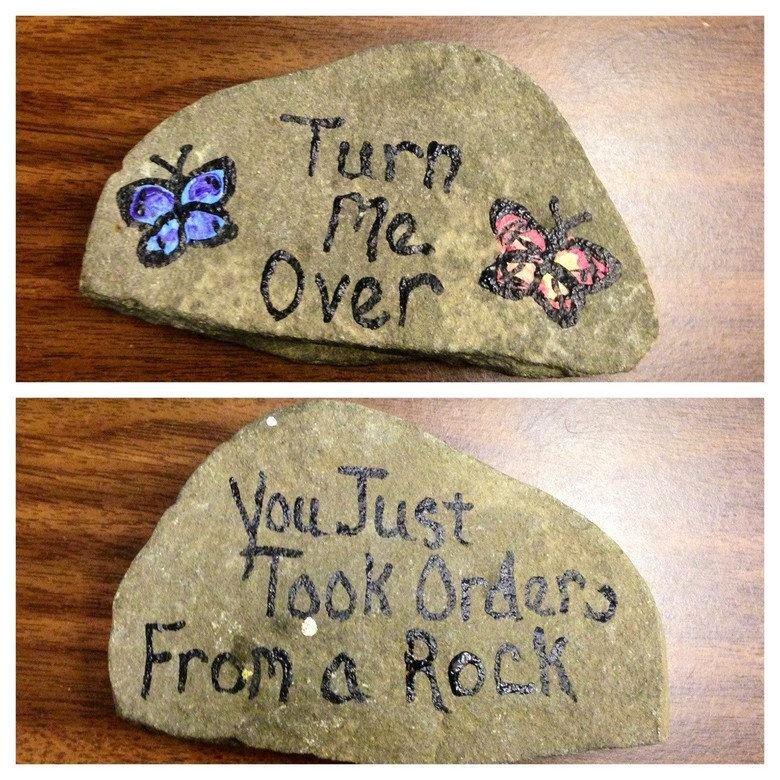 rocks. .. Your point being? rocks Your point being?