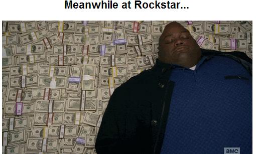 "Rockstar. . Meanwhile at "",. 1' killall meanwhile"