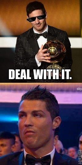 Ronaldo is unimpressed.. Ronaldo's reaction when Messi won the FIFA Ballon D'Or 2013.. HEM WWII IT sky Ronaldo is unimpressed Ronaldo's reaction when Messi won the FIFA Ballon D'Or 2013 HEM WWII IT sky
