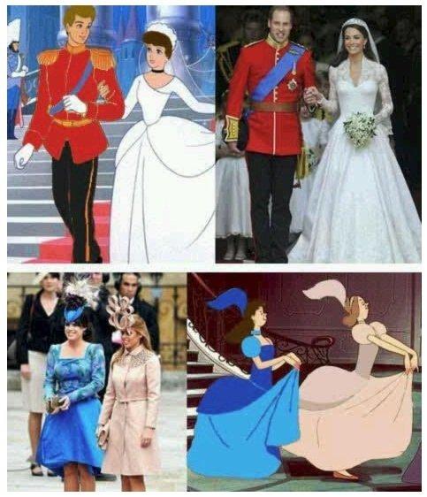 Royal Disney wedding. .. Not Disney but... royal wedding Disney copy