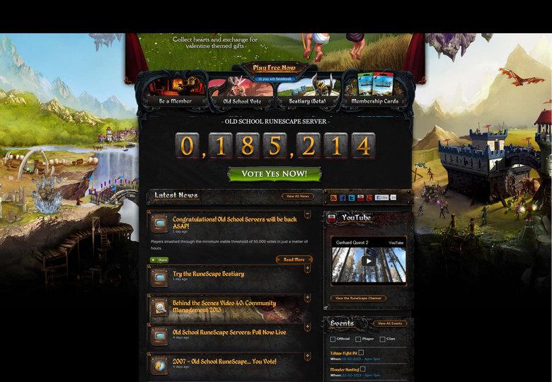 Runescape 07 servers - Pre-GWD. .. no runescaoe