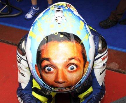 Valentino Rossi - Helmet. . Valentino Rossi - Helmet