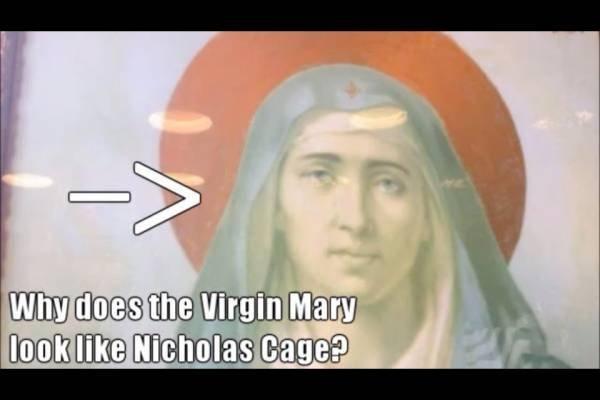Virgin Cage. . cicholas nage