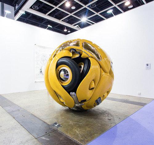 VW ball. .. , this belongs into morbid channel. VW ball this belongs into morbid channel