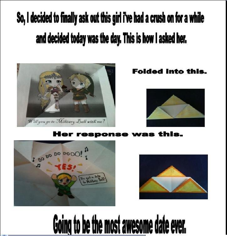 Zelda Date. Comic Sans because you, MS paint because you, first post because you. uname I Intuit: 'Hill- winning