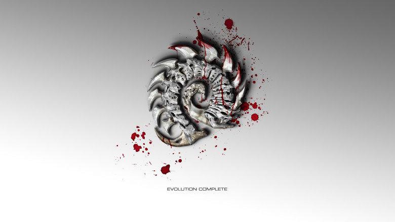 zerg with blood. . EVOLUTION COMPLETE. Zerg master race zerg with blood EVOLUTION COMPLETE Zerg master race
