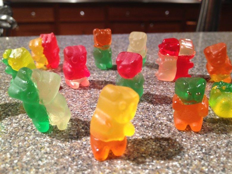Zombie Mutant Gummy Bears. .. really Zombie Mutant Gummy Bears really