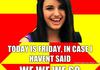 Rebecca Black Friday Comp