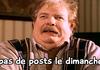 no post....