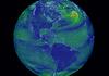 Earth wind map