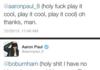 Aaron Paul and Bo Burnham